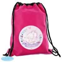 Personalised Tiny Tatty Teddy Unicorn Swim & School Bag - Ideal gifts for Back to School, Gym Bags, PE Bags, Swim Bags.
